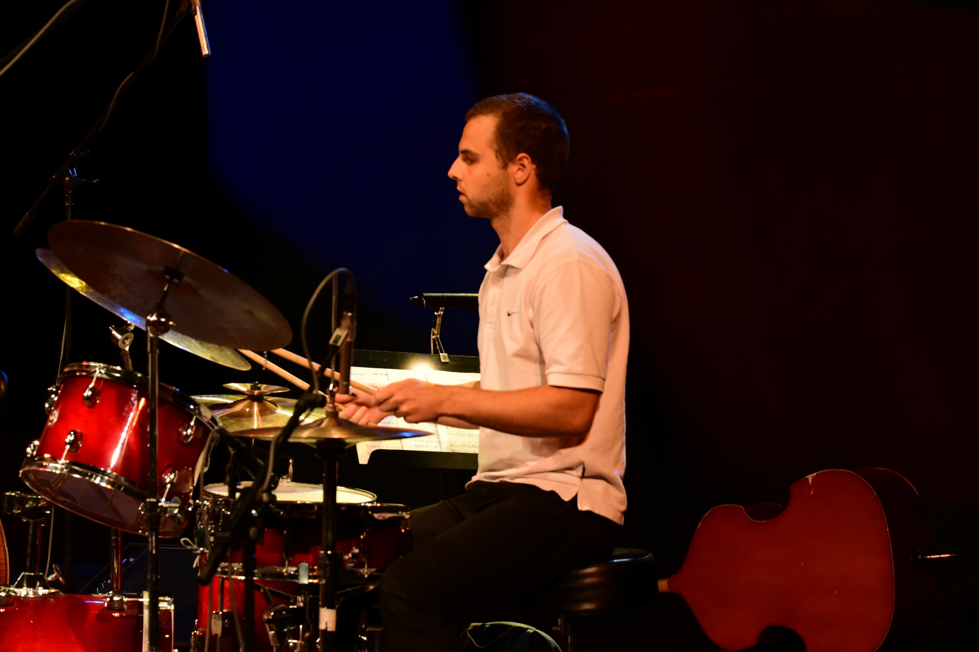 Out of the kitchen: Samuel Santasarkka - drums