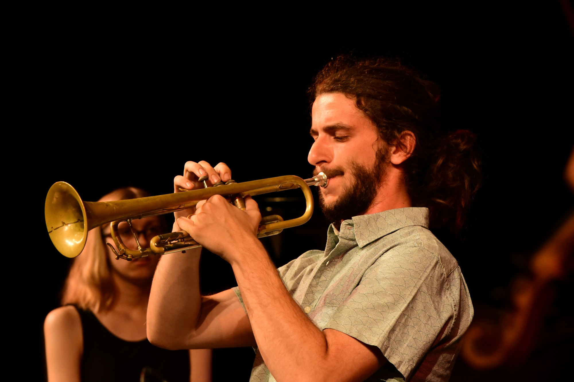 Out of the kitchen: Alex Quin - trumpet